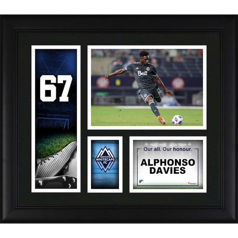 Alphonso Davies Vancouver Whitecaps Fanatics Authentic