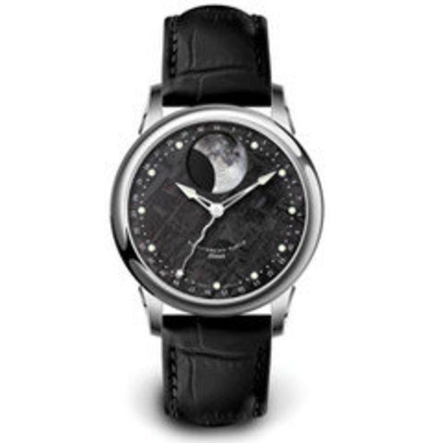The Genuine Meteorite Watch - Hammacher Schlemmer
