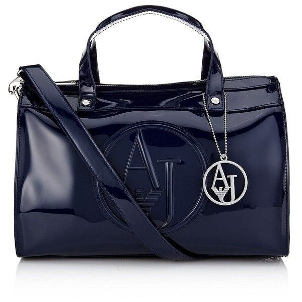 Armani Jeans Bowling Bag 225 Liked On Polyvore Featuring Bags Handbags