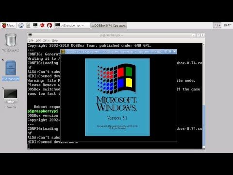 Classic Windows on a $35 computer: How to fire up Windows