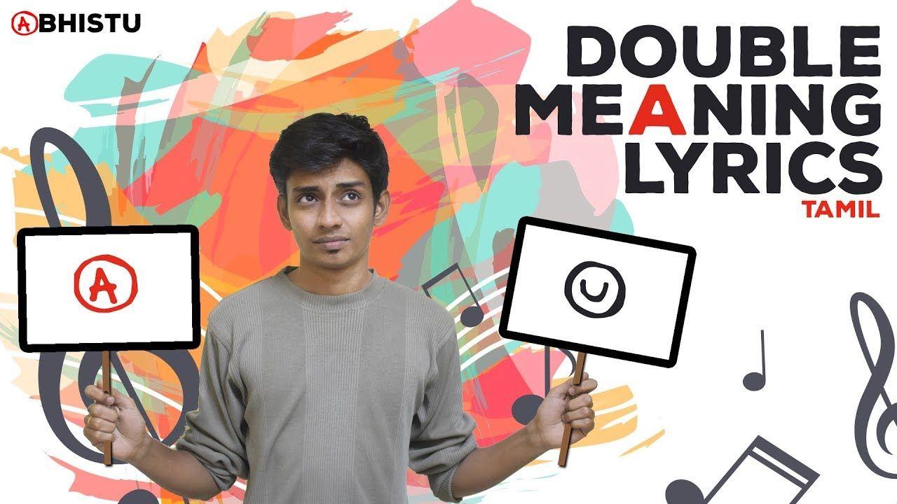 Double Meaning Lyrics Tamil Abhistu Double Meaning Lyrics