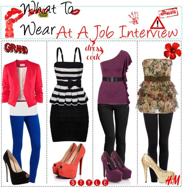 what to wear job interview by the fabulous tip girls on polyvore - What Colors To Wear To An Interview