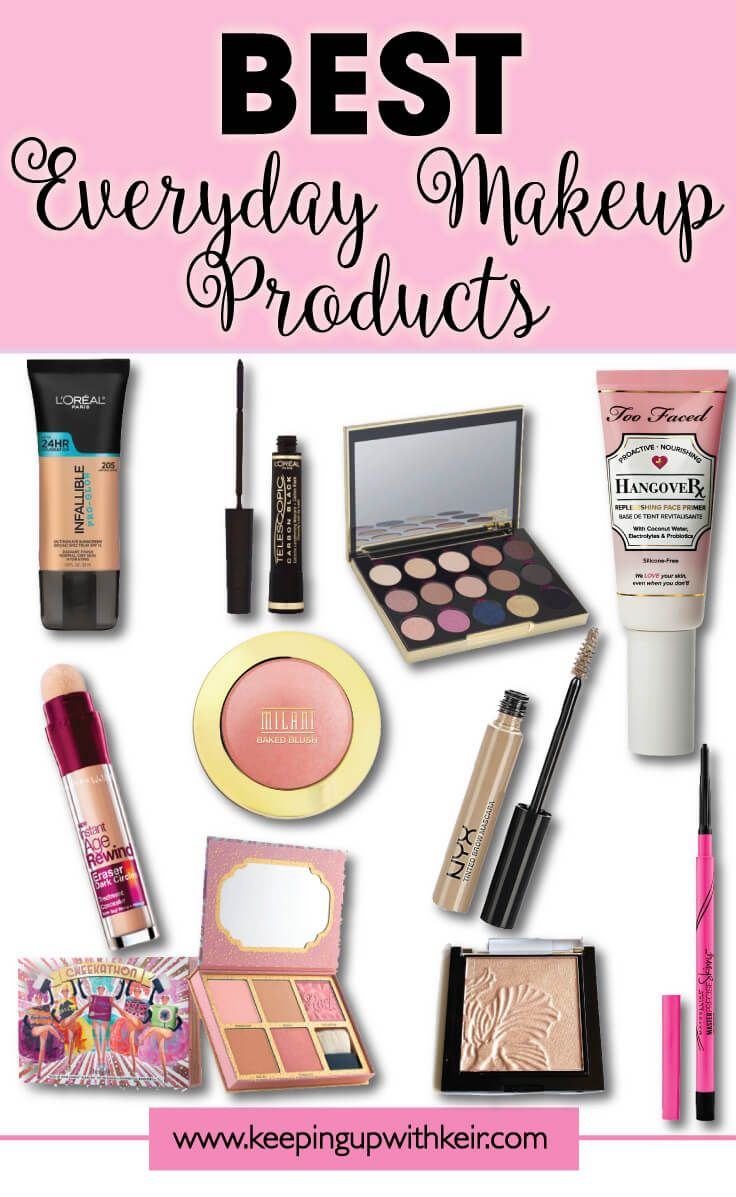 My Go To Everyday Makeup Products For Normal Dry Skin Best