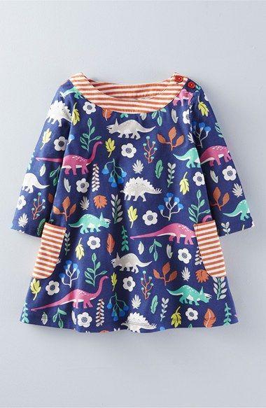 Mini boden print jersey tunic toddler girls little girls for Mini boden mode