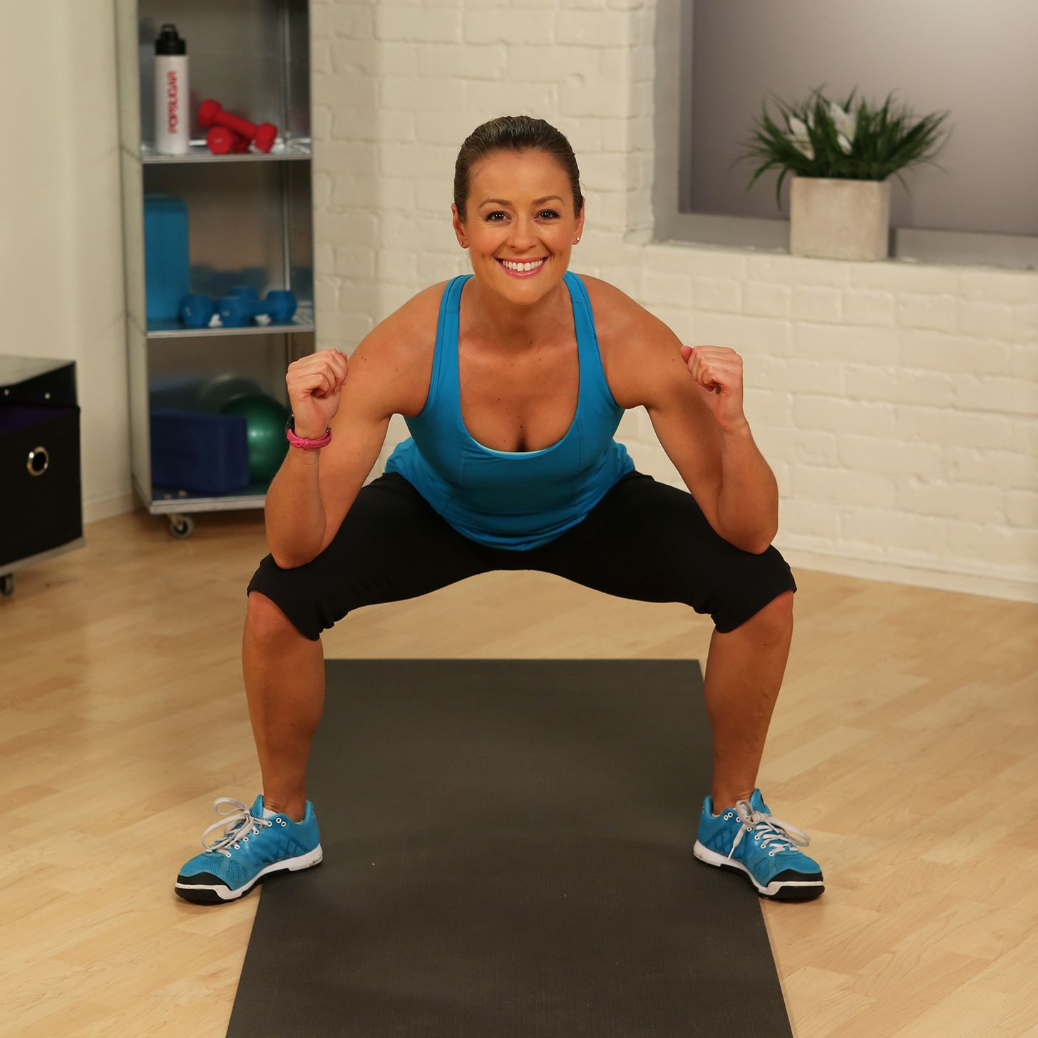 One-Minute Fitness Challenge: Gate Swings