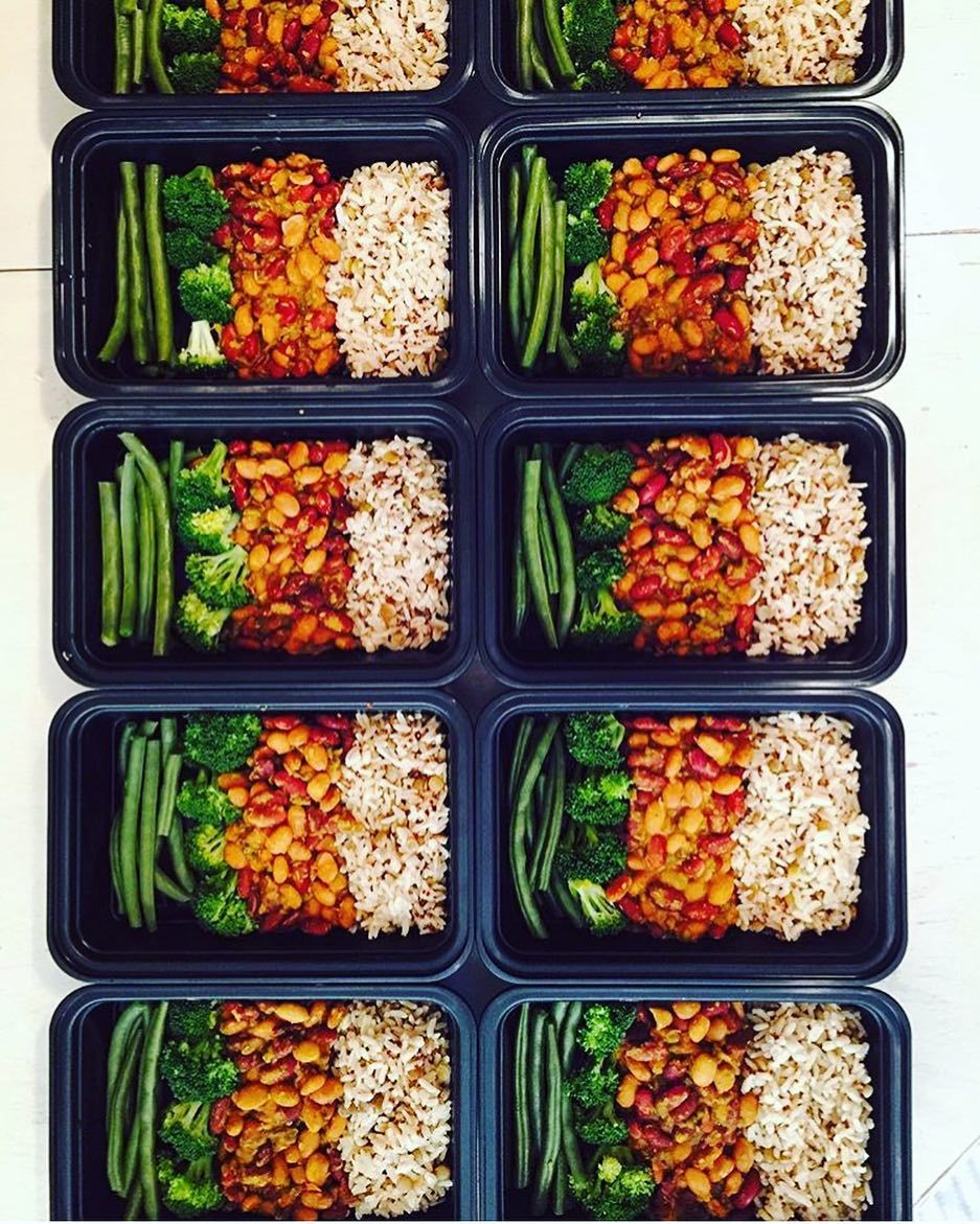 AllInOne Vegan meal prep, Vegan meal plans, Vegetarian