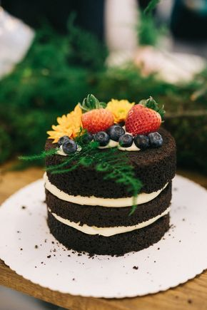Diy Naked Cake Wie Ihr Eine Hochzeitstorte Selbst Machen Konnt