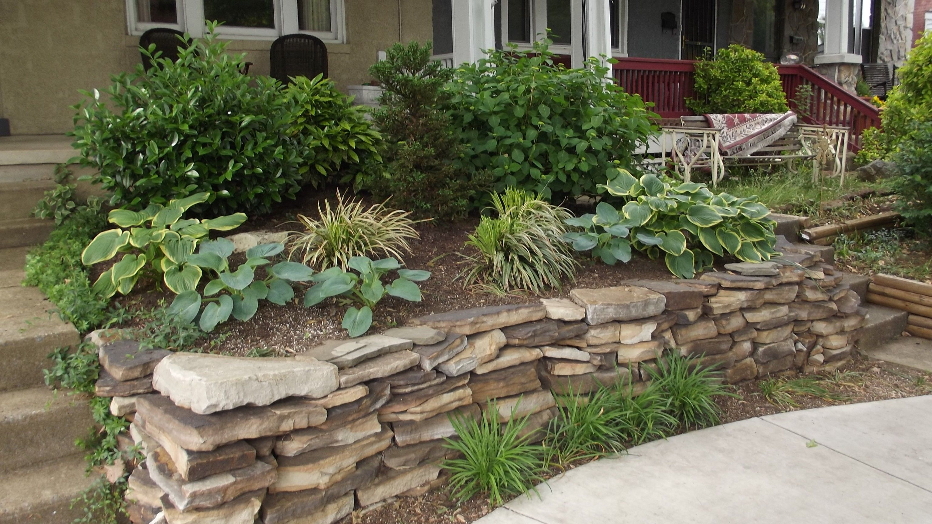 landscaping ideas for front yard with flowers | bathroom design
