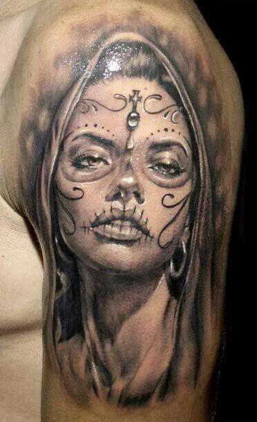 11+ Tatouage santa muerte bras ideas in 2021