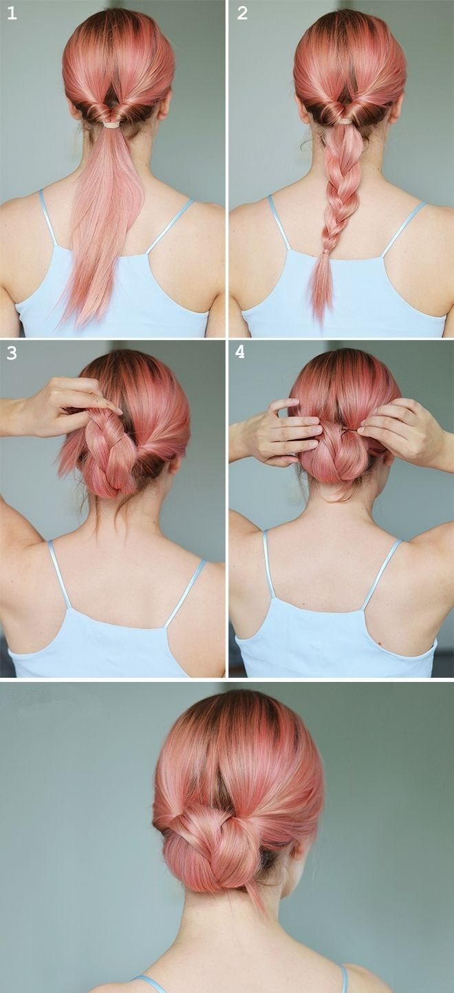 Ok not a short cut but a cool style idea hair care