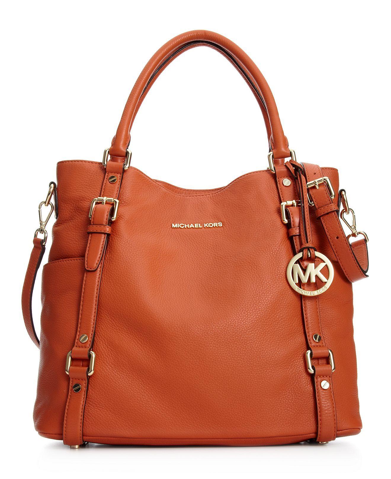 ce74bb63be3e MICHAEL Michael Kors Handbag, Bedford Tote in Burnt Orange - $398 ...