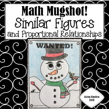 Similar Figures Proportional Relationships Math Mugshot