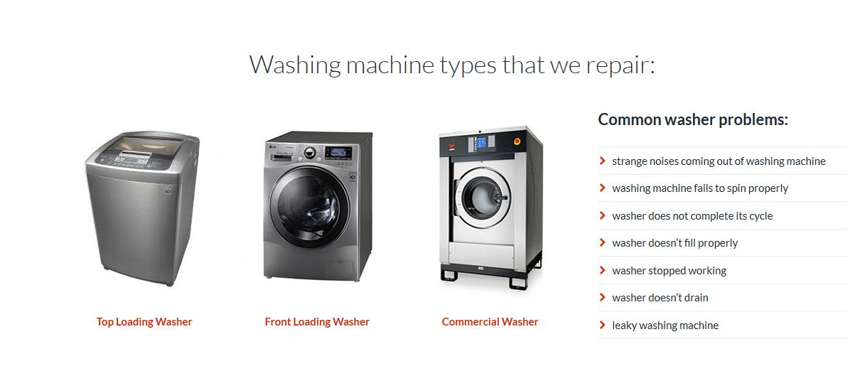Appliance Repair Service Expert Electrolux Washer Repair