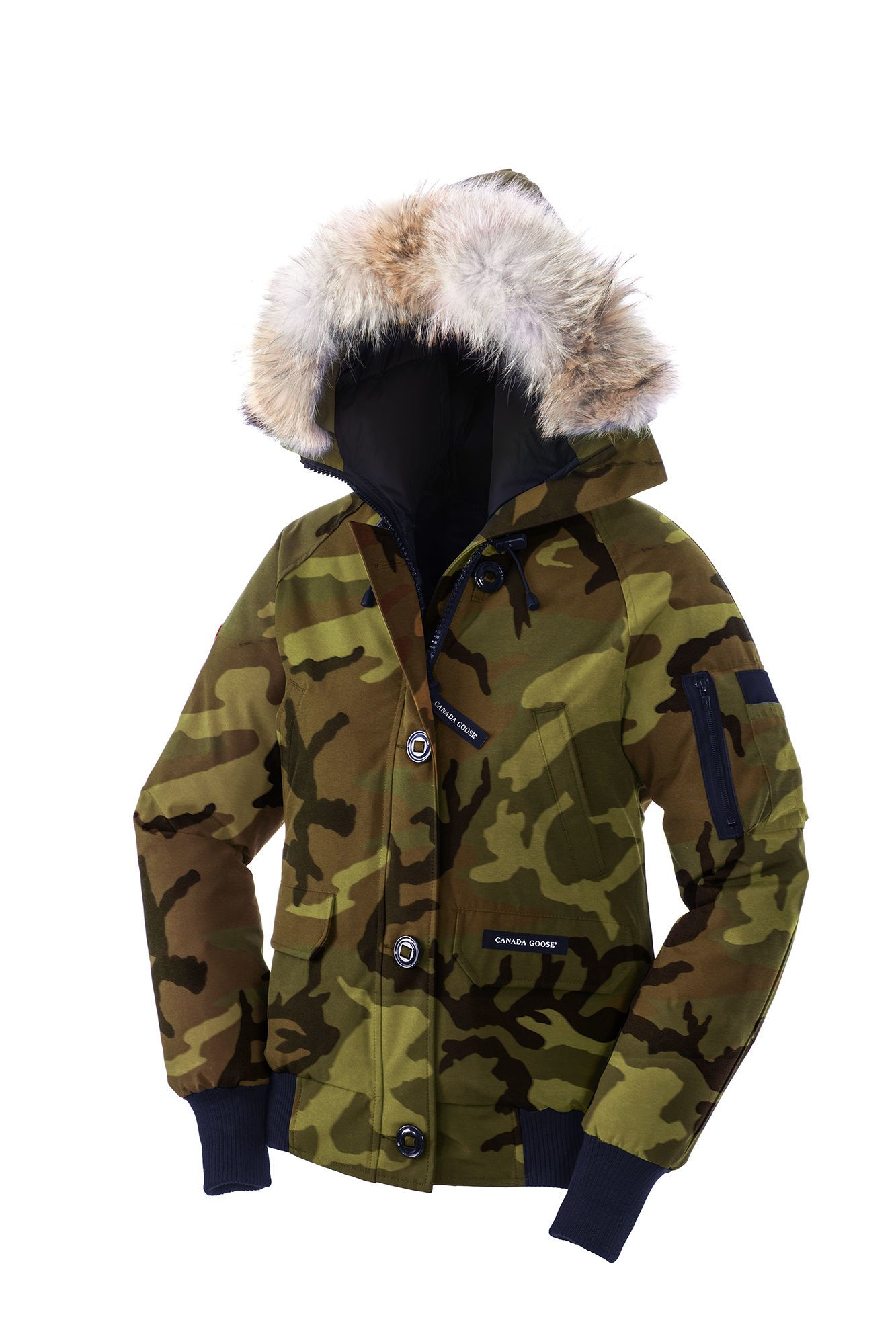 Canada Goose Green Chilliwack Bomber Lyst Canada
