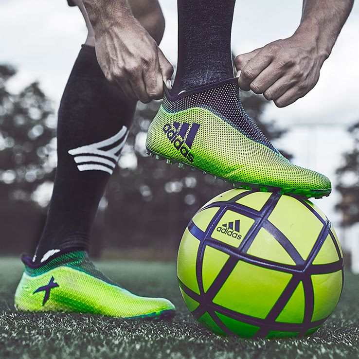 Laceless Adidas X Tango 17 Purespeed Ocean Storm Pack Boots Released Footy Headlines In 2020 Adidas Soccer Shoes Soccer Boots Soccer Cleats Adidas