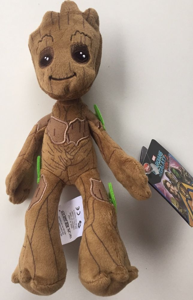 Baby Groot Plush Disney Store 8 1 2 Quot Guardians Of The