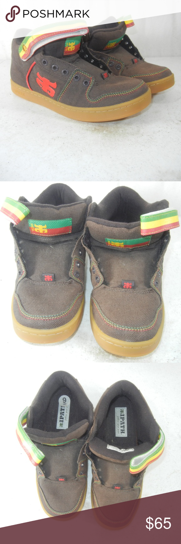 64343dc3dccb3 Ipath grasshopper rasta shoes mens size the item you are investing in is a  pair png