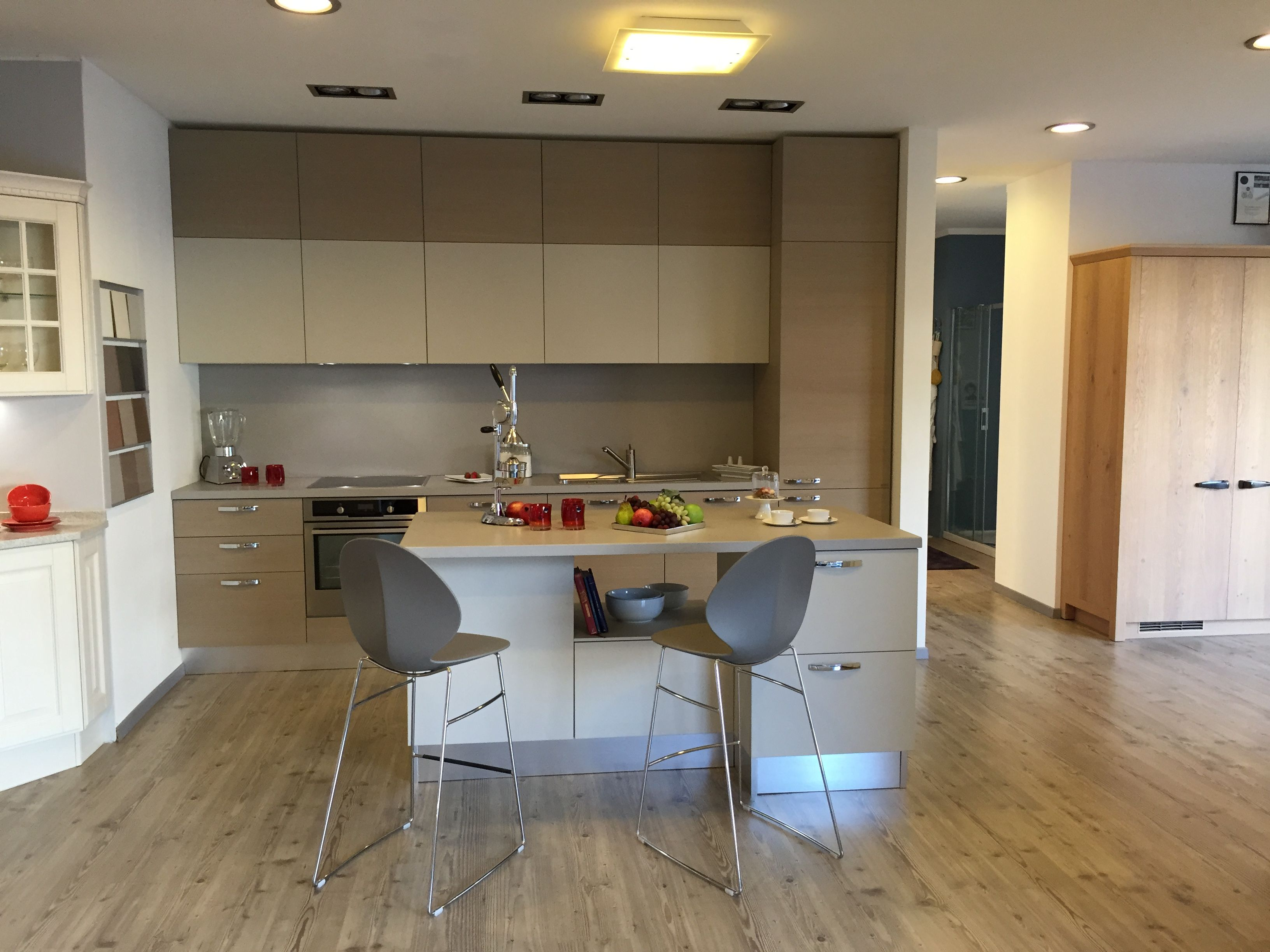 Cucina #Scavolini modello #Open: anta piana legno rovere Corylus e ...