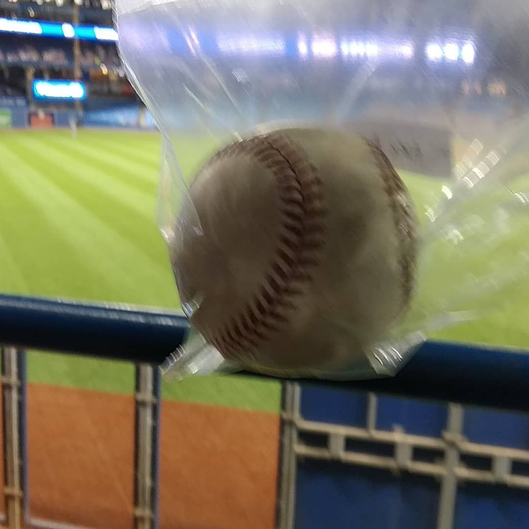 Toss Up From Alex Andreopolous Baseball Catch Toronto 6 Bluejays Mlb Life Ball Sports Hobby Rogers Ballha Home Maintenance Homerun Home Repairs