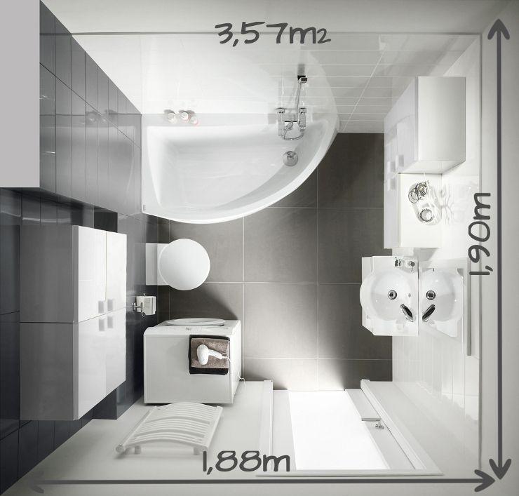 Die besten 25 badezimmer 4m2 ideen auf pinterest for Badezimmer 4 5 m2