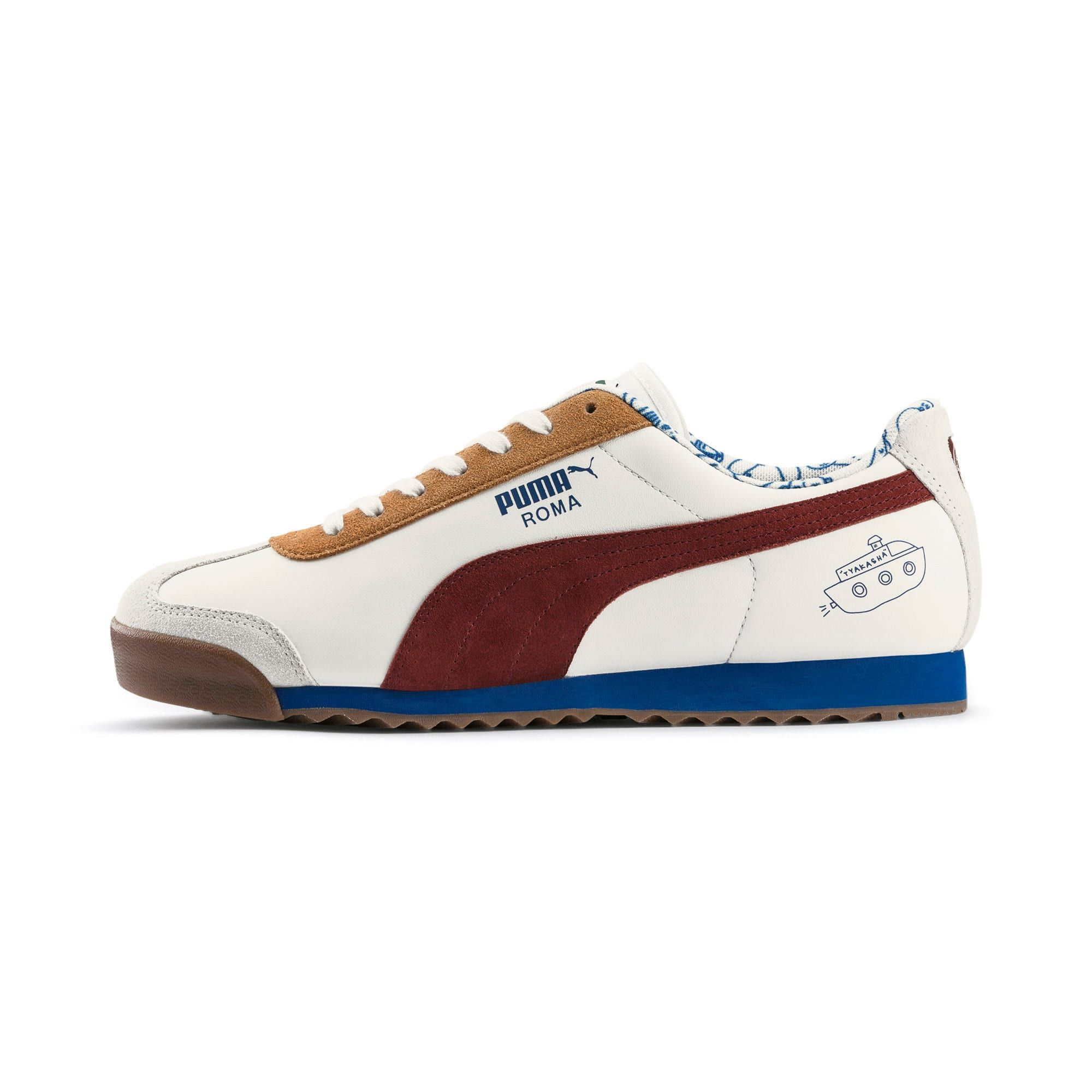 PUMA x TYAKASHA Roma Trainers   Sneakers, Pumas shoes, Trainers