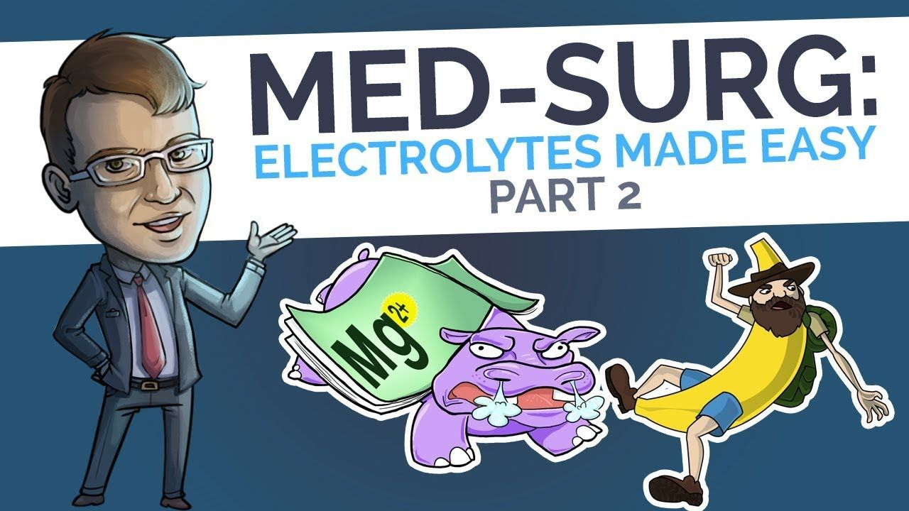 Medsurg electrolytes made easy part 2 picmonic