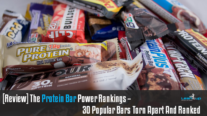 Your Protein Bar Should Pack On MUSCLE, Not FAT. We Tore Apart And Power