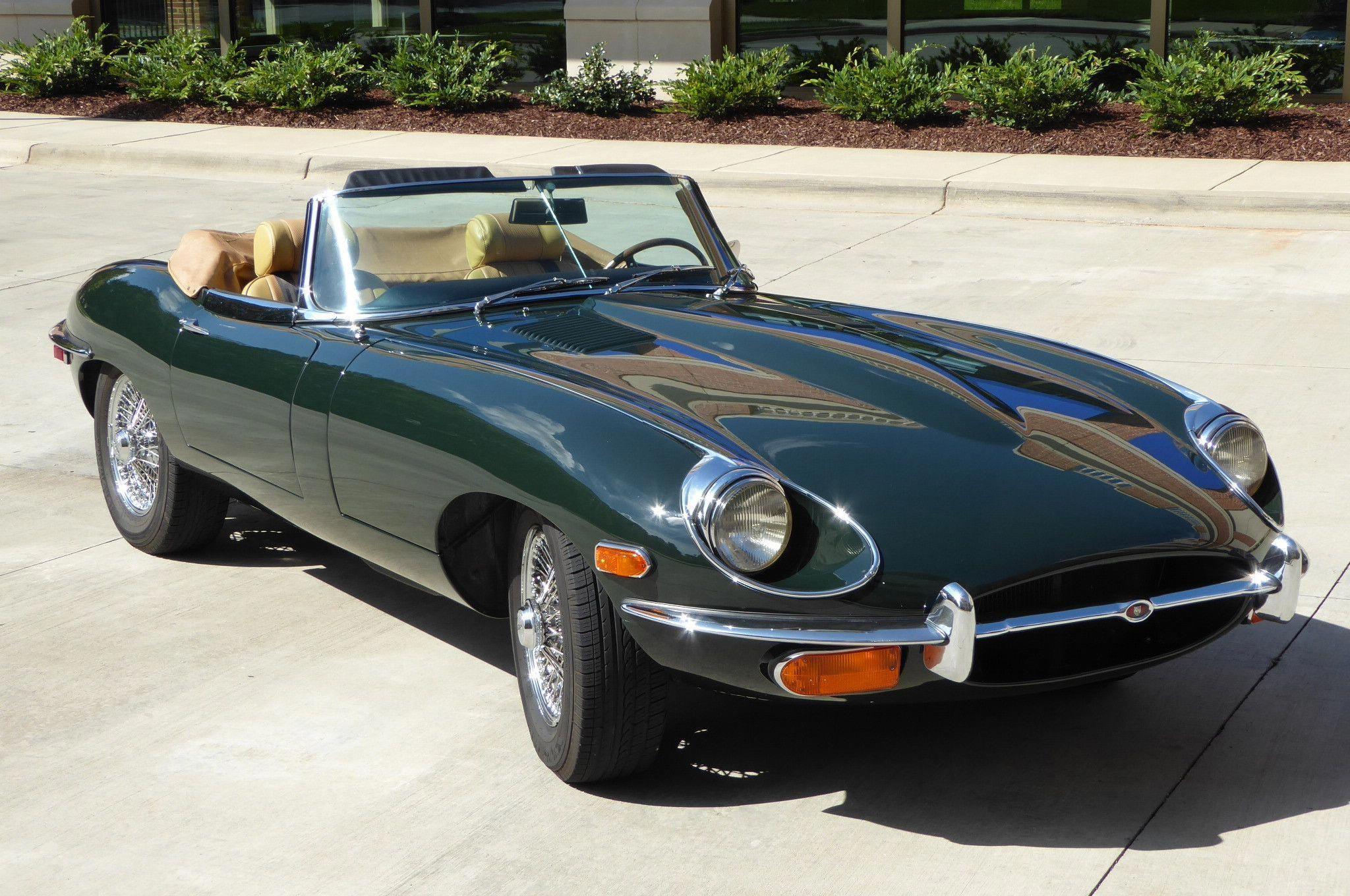 1969 Jaguar XKE OTS 4-Speed