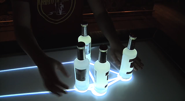 Touchscreen Valo Bar Is The Bar Countertop Of The Future