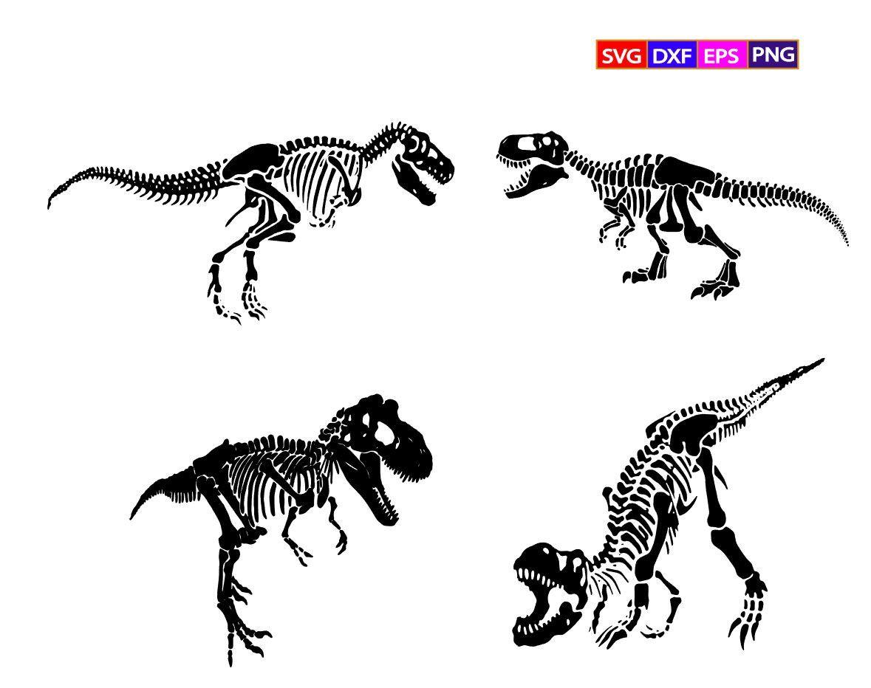 Dinosaur Skeleton Svgt Rex Skeleton Svgtyrannosaurus Rex Etsy In 2021 Dinosaur Skeleton Dinosaur Drawing Skeleton Drawings