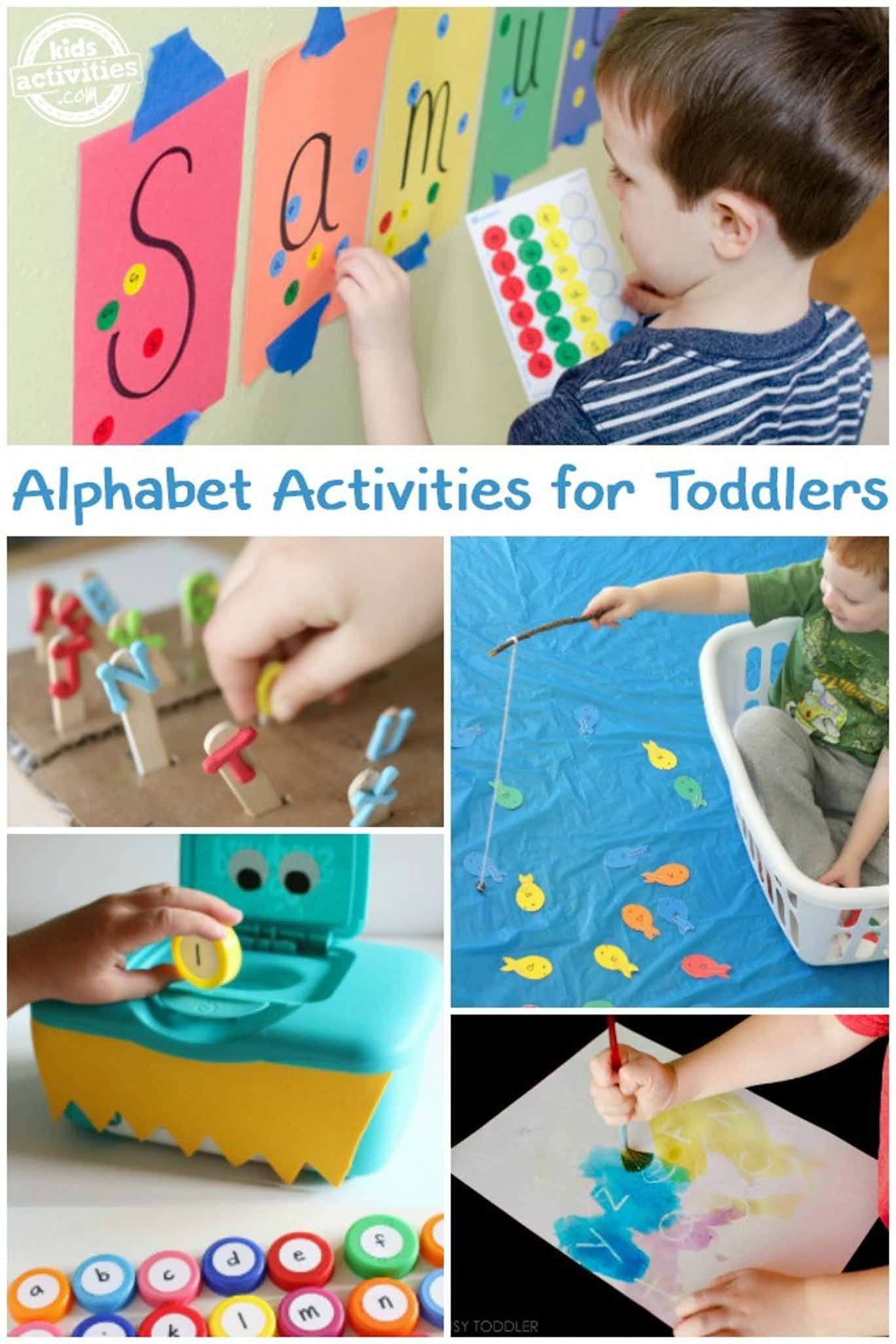 How To Teach Your Toddler The Alphabet