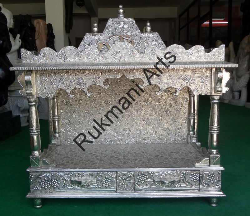 Code-59 Wooden Carved Teakwood Temple / Mandir, wooden Temple Wooden ...