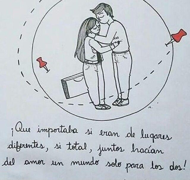 Dibujos Dibujos De Amor Tumblr Frases De Colores Dibujos De Amor