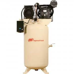 Each Value Or Value Plus Unit Includes A Two Stage 100 Cast Iron Pump Odp Electric Motor Reciprocating Air Compressor Electric Air Compressor Ingersoll Rand