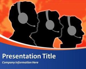 Call Center PowerPoint Template   Business powerpoint