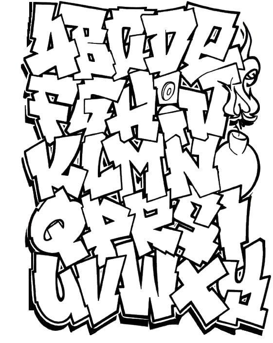 Abecedario Grafitti 11 With Images Graffiti Alphabet Styles