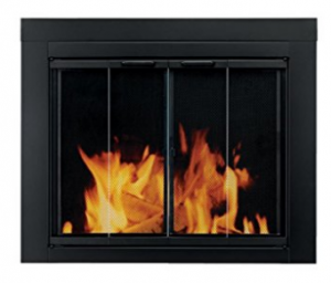 Pleasant Hearth AT1001 Ascot Fireplace Glass Door Glass