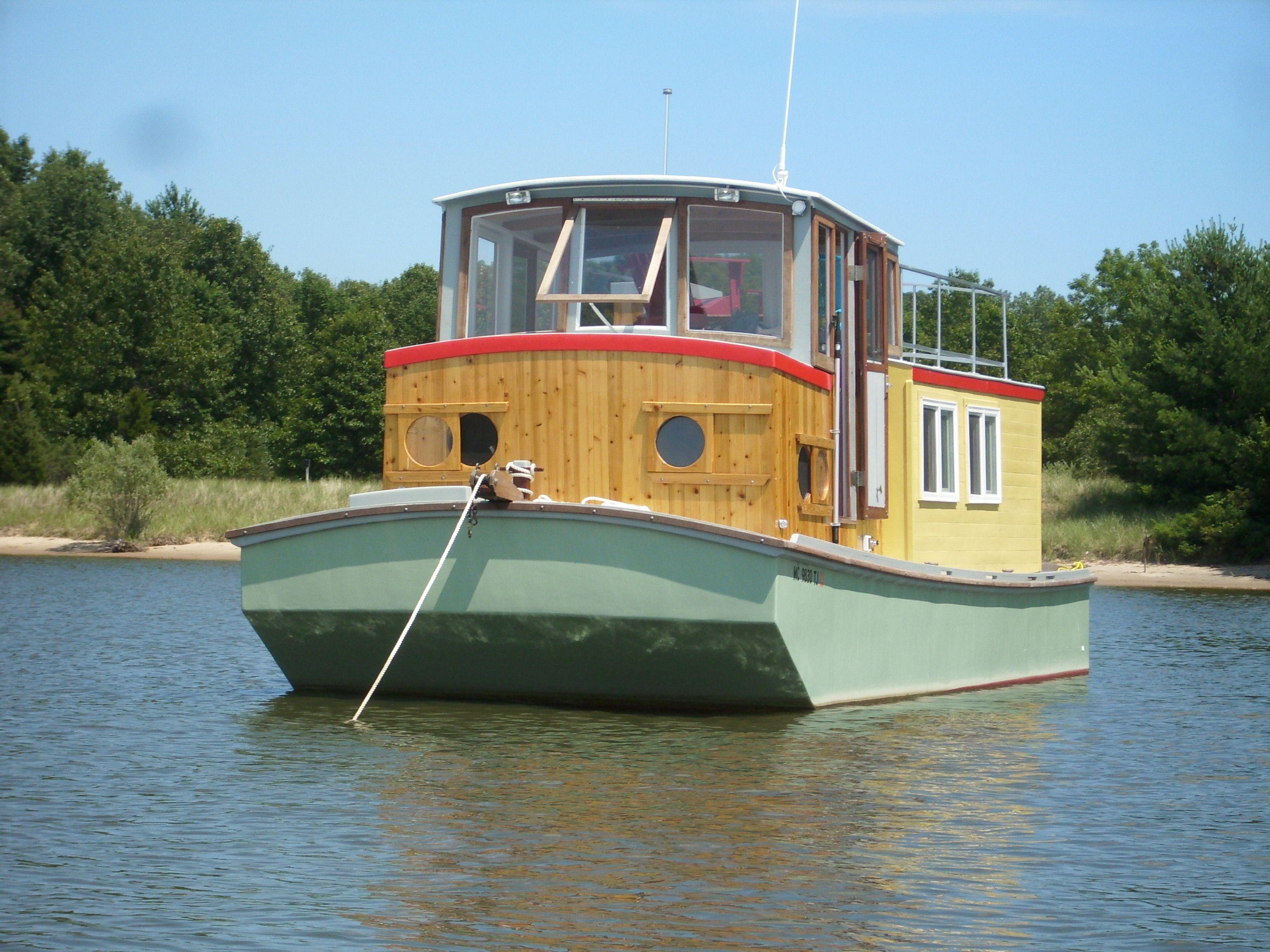 Small Houseboats Saugatuck Wooden Boat Cruises Tours