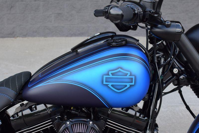 H D Softail Breakout Custom Bike By The Bike Exchange Motorcycle