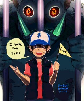 """No offense, Dipper. But you're the sidekick."""