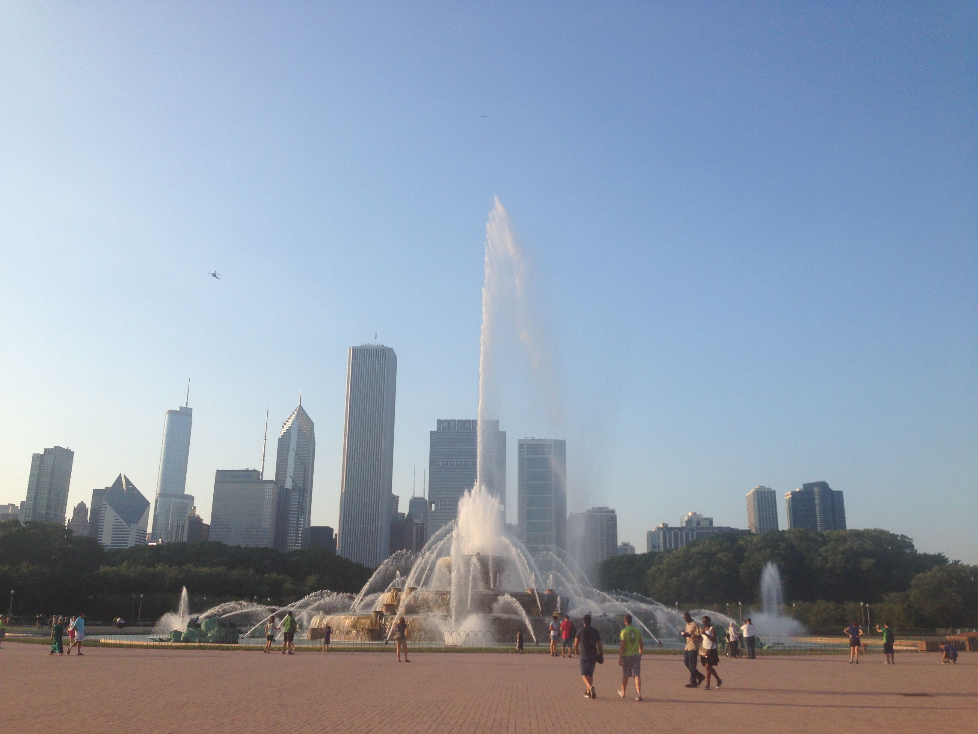 Millennium Park Fountain Chicago