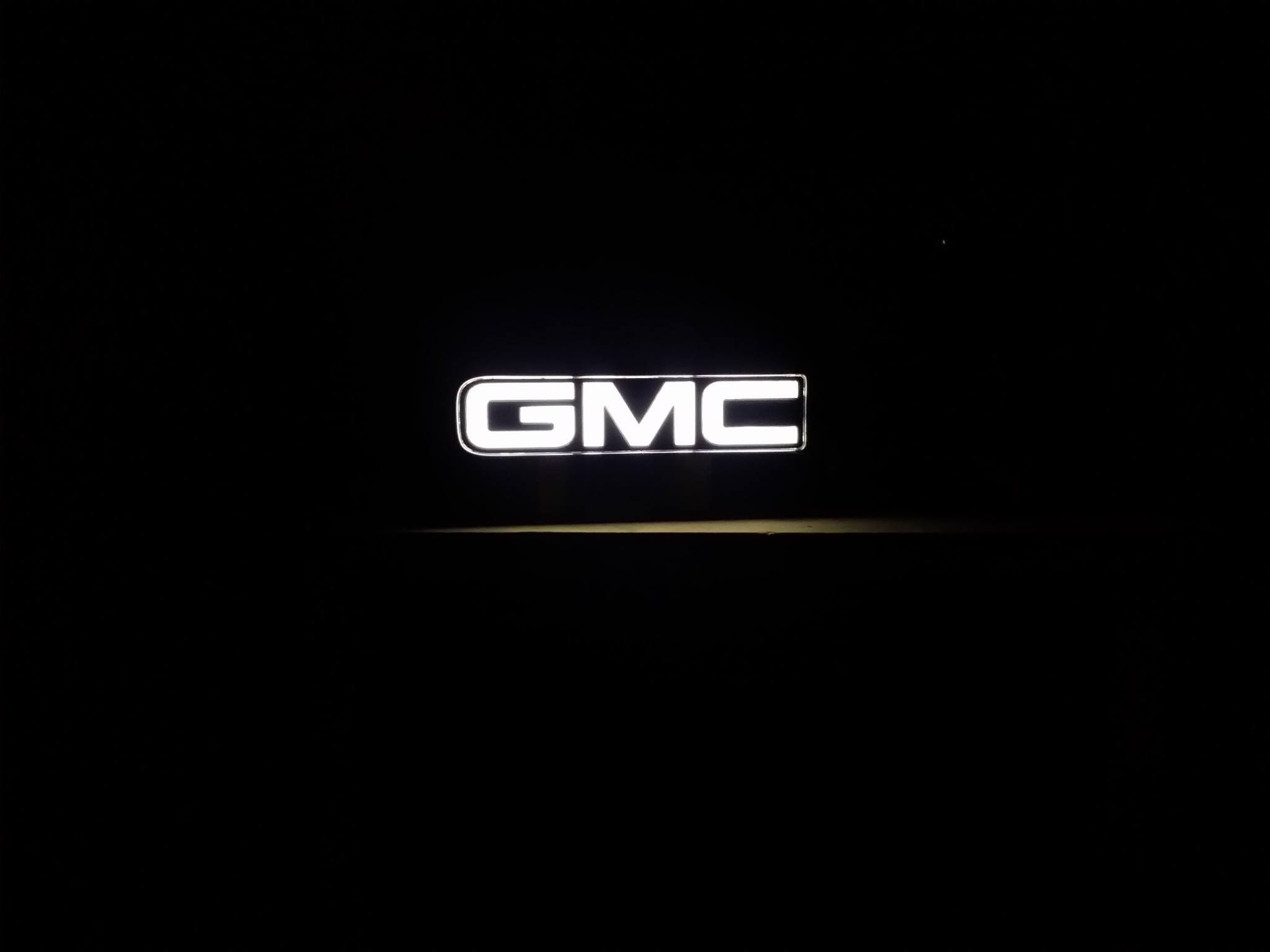 Gmc Lit Front Grill Logo Custom Built 275 00 By Livewire Custom