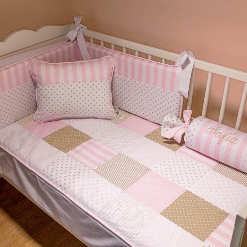 Ropa de cuna gael proyectos que debo intentar pinterest ropa bebe y beb - Protectores para cama cuna ...