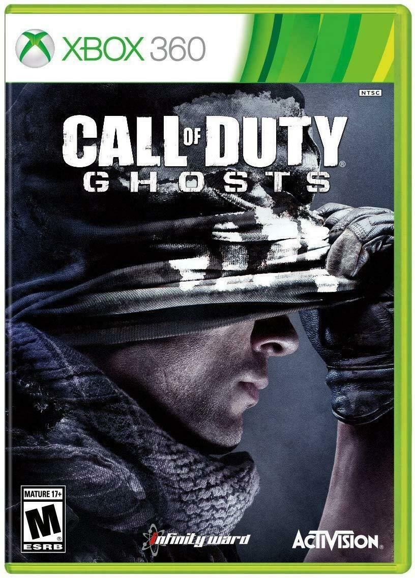 Call Of Duty Ghosts Microsoft Xbox 360 2013 Brand New Us Version In 2020 Call Of Duty Ghosts Call Of Duty Xbox 360 Games