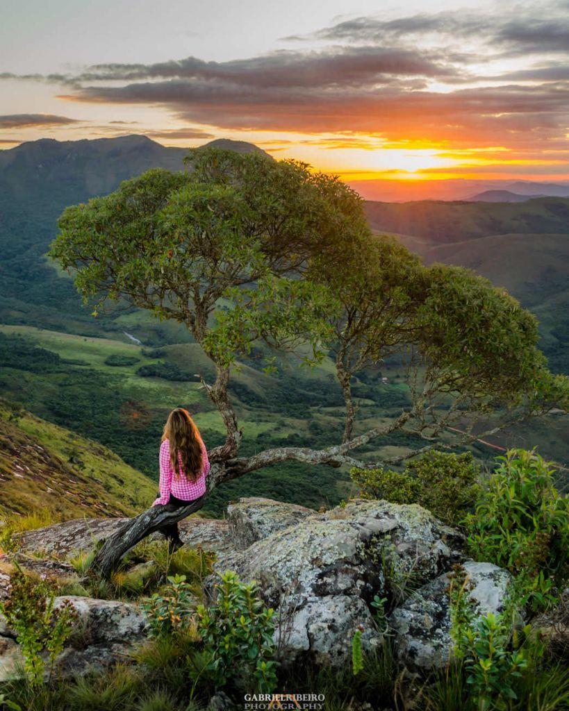 Pico Do Chorao Parque Estadual Da Serra Do Papagaio Mg Com