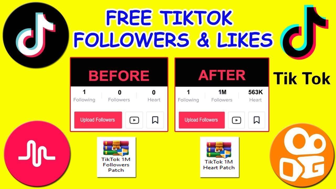 Free Tik Tok Likes Followers Hack How To Get Free Likes Tik Tok 2019 How To Get Followers Free Followers Free Facebook Likes