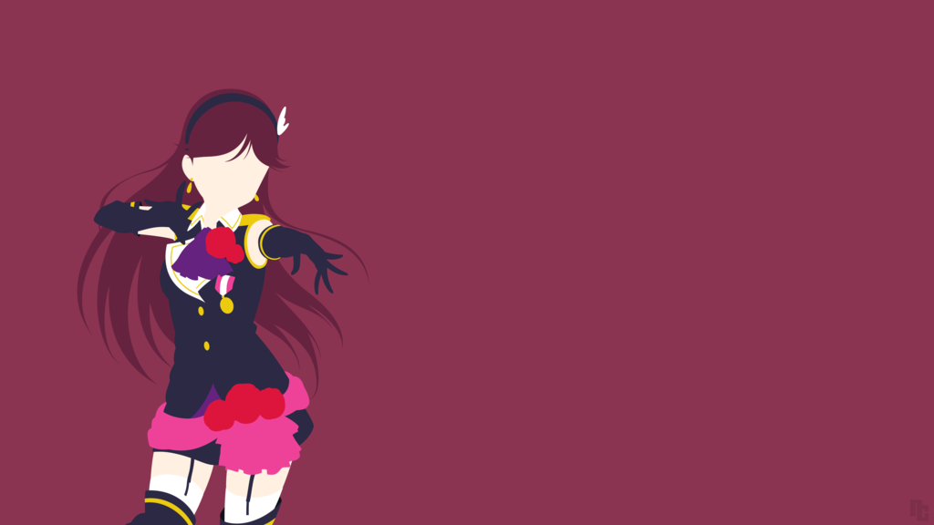 Wanted To Do A Wallpaper From Love Live Maki Is One Of My Favourite Characters From The Anime So Here She Is Enjoy The Deviantart Anime Favorite Character