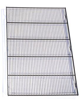 """$27.99-$0.00 The Precision Pet(R) Mesh Metal Floor Grid is great for basic crates and suitcase crates. Standard 1/2"""" x 6"""" mesh floor is available for all sizes. The Mesh Metal Floor sits above the pan. Item Specifications: 19 Inch: Fits Crates: (19"""" L x 12"""" W x 14"""" H) 24 Inch: Fits Crates (24"""" L x 18"""" W x 19"""" H) 30 Inch: Fits Crates (30"""" L x 19"""" W x 21"""" H) 36 Inch: Fits Crates (36"""" H x 23"""" W x 25 ..."""