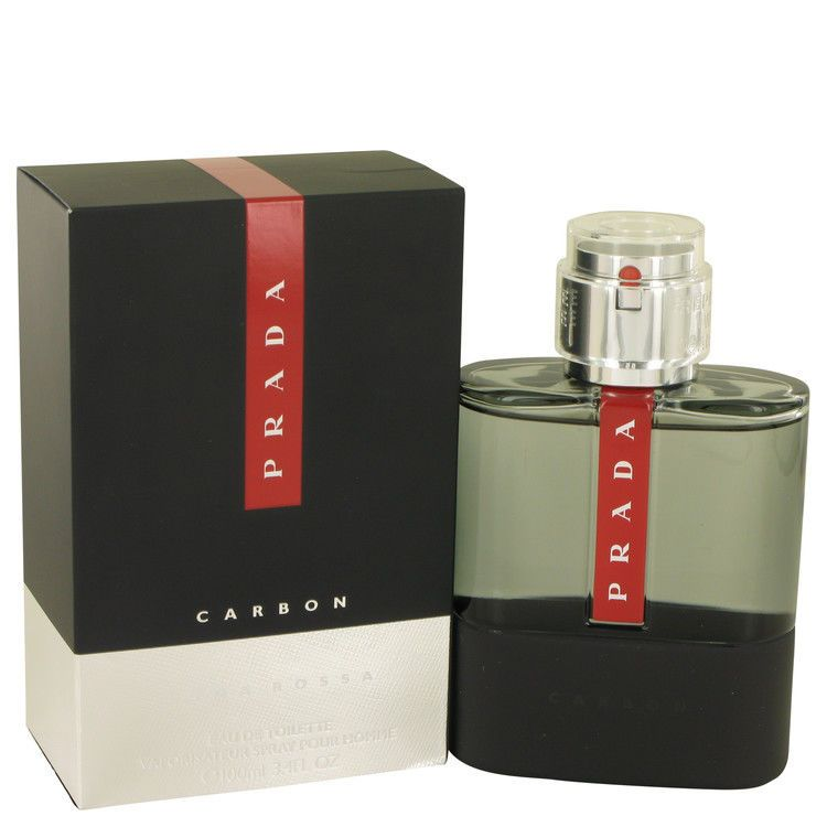 Prada Luna Rossa Carbon Cologne 3.4 oz Eau De Toilette Spray for Men New in  Box  Prada 00ca3d12e7