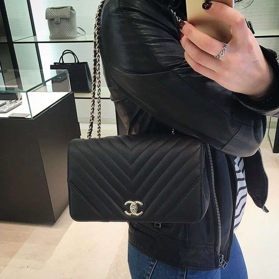 4e9f762eecda Chanel Chevron Statement Bag is an affordable chic bag. For the Chanel  dream chasers, here is your opportunity to own a Chanel bag.